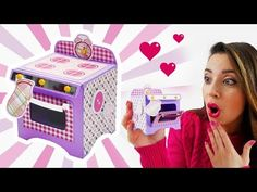 Paper Oven with Mini Cake! - Fornetto di Carta con Mini Tortina!