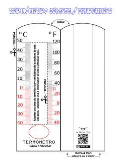 Termómetro celsius fharenhait