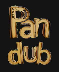 Pandub Alphabet on Behance