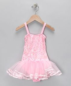 Take a look at this Fairy Dreams Pink Chloe Skirted Leotard - Infant, Toddler & Girls by Dance Class: Apparel & Accents on @zulily today!