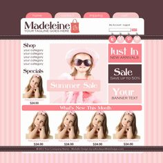 181 best cute websites and website templates images on pinterest in