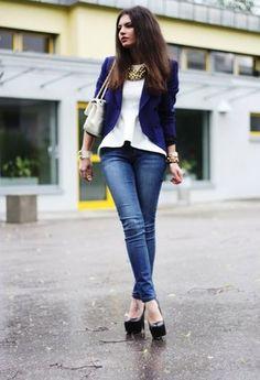 Zara  Blazers, H  Camisas / Blusas and Love Moschino  Bolsos