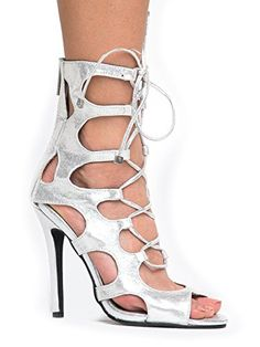 a85ee2e30b5ed Lace Up Gladiator High Heel - Peep Toe Suede Shoe - Sexy ... Gladiator
