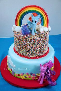 My little pony cake: