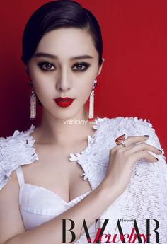 Totally love this Fan Bingbing shoot for Inspiration magazine. She models VISCAP's s/s 2013 range. The Chinese actress and fashion . Fan Bingbing, Makeup Trends, Pelo Retro, Beautiful Chinese Women, Evening Makeup, Asian Eyes, Asian Makeup, Eye Makeup, In China