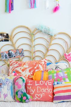 Making pillows with