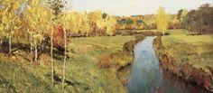 Сочинение по картине И.И. Левитана «Золотая осень»
