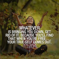 let go - and let God! beating negativity, getting rid of negativity