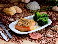 Salmão Selvagem com Crumble de Sementes | Nárwen's Cuisine