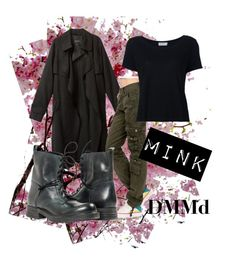 """""""DMMd - Mink"""" by yuukimehri7 ❤ liked on Polyvore featuring Frame Denim"""