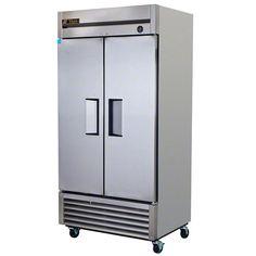 "True (T-35) - 40"" Solid Door Reach-In Refrigerator | FoodServiceWarehouse.com"
