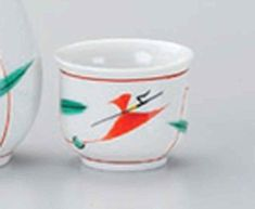 Tsuyukusa Akae 33inch Sake cup White porcelain Made in Japan -- You can find out more details at the link of the image.