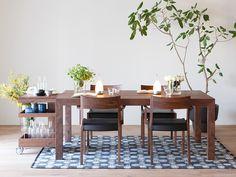 上質な美しい暮らしのご提案 ワイズカーサ・ホーム » カラメッラダイニングテーブル Dining Table, Storage, Interior, Furniture, Home Decor, Website, Dining Room, Purse Storage, Decoration Home