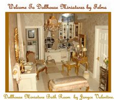 Dollhouse Miniatures By Felma