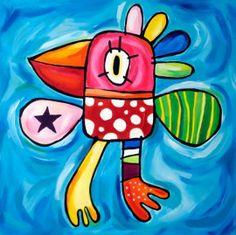 Schilderen : een techniek waarbij men met verf een voorstelling maakt Art Wall Kids, Art For Kids, 4 Kids, World Best Photos, Art Journal Inspiration, Silk Painting, Yard Art, Easy Drawings, Art Lessons