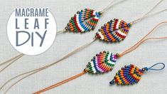 DIY Colorful Macramé