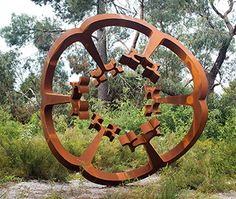 Greg Johns has won the McClelland Award, an acquisitive award for outdoor sculpture offered by Victoria's McClelland Gallery & Sculpture Park. 'At the centre (There is nothing)', This Art Week: Art news