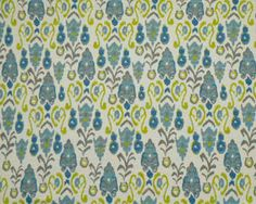 25'' Curtains  Drapery Panels Blue and Gold by LouiseandCompany, $65.00