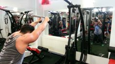 High Pulley Overhead Triceps Extensions (rope)