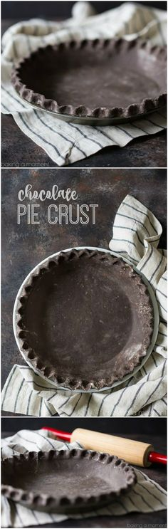 Jazz up your next pie with a chocolate pie crust! Tender and flaky as can be, and the chocolate flavor is off the charts. Follow my easy video tutorial.