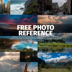 Free Photo Reference Megapack | Noah Bradley