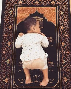 Islamic Images, Islamic Pictures, Whatsapp Dp, Cute Kids, Cute Babies, Baby Hijab, Muslim Pray, Cute Baby Girl Pictures, Islamic Girl