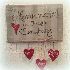 Für uns statt Tonschild - Upcycled Home Decor Home Decor Quotes, Home Decor Signs, Upcycled Home Decor, Handmade Home Decor, Valentines Day Decorations, Valentine Day Crafts, Idee Diy, Personalized Wedding Gifts, Easy Diy Crafts