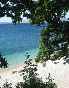 Žurkovo beach in Kostrena, Croatia!