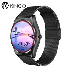 N3 1.3inch HD Waterproof Fashion Heart Rate Blood Pressure Monitor Pedometer Wireless Charging Smart Watch for IOS/Android #Affiliate