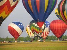 Take a flight of fancy with Gulf Coast Hot Air Balloon Festival