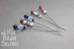 Little Birdie Secrets: Hat Pin or Scrapbook Stick Pin Tutorial