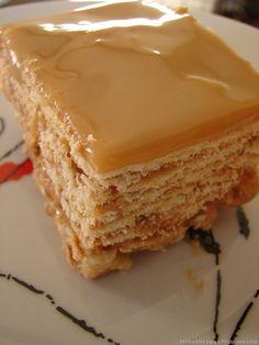 Receitas Deliciosas da Dona Maria: Torta de Bolacha