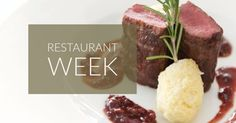 Looking to taste a gourmet, three-course meal for just $32 or $18? Attention all #foodies, #RestaurantWeek may be your calling! More than 165 restaurants are participating. Book now!! #SeattleRestaurantWeek #Seattle