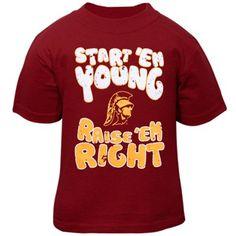 USC Trojans Infant Start 'Em Young T-Shirt - Cardinal