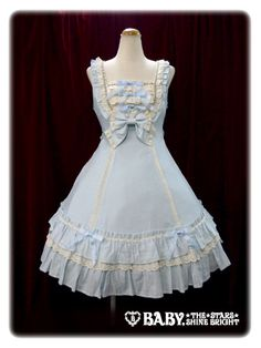 The Rococo Garden Jumperskirt from Baby the Stars Shine Bright in sax. It is one of my favorites!
