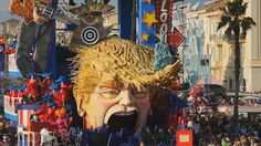 It is one of the most renowned street celebrations in Europe, The Carnival of Viareggio famous for its parades of huge floats. Faith In Humanity Restored, Pictures Of People, Smart People, Worlds Of Fun, Installation Art, Donald Trump, Pop Culture, Presidents, Carnival