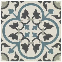 St Etienne - Quarry & Encaustic - Shop by tile type - Wall & Floor Tiles Bathroom Floor Tiles, Wall And Floor Tiles, Kitchen Tiles, Kitchen Flooring, Wall Tiles, Kitchen Worktop, Vinyl Tiles, Stone Flooring, Flooring Ideas