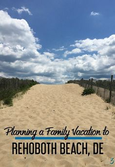 Your ultimate guide to planning a summer vacation in and around Rehoboth Beach, Delaware including things to do in Rehoboth Beach and the other Southern Delaware beaches. Beach Vacation Tips, Beach Trip, Vacation Destinations, Vacation Spots, Vacation Ideas, Beach Vacations, Beach Travel, Vacation Packages, Vacation Places