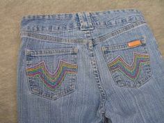 Girls Gasoline Capri Cropped Stretch Sz 12 Jeans - $17.95