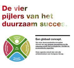 Compass Group Belgilux gaat een duurzaam engagement aan rond vier pijlers.