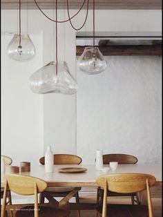 Beautiful Glass Hanging Lamps