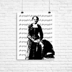 In support of persistent women everywhere, were designing a new series of She Persisted prints including this custom HARRIET TUBMAN, SHE PERSISTED poster. ✱ PRODUCT DETAILS ✱ • You can choose to have your image printed on Kodak Professional Endura Premier paper or printed & mounted on Double-Weight Matboard. Please choose either option from the drop down menu at the right of the screen. • You can also choose the size from the drop-down menu: 5x7, 8x10, 11x14, or 16x20. Other sizes may be ...