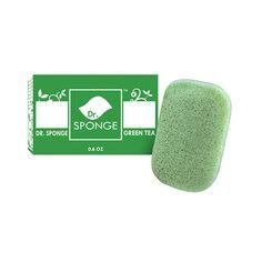 Body Cleansing Sponge - Green Tea