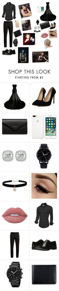 """""""senior prom with ashton irwin pt. 2😘"""" by briannacliffs ❤ liked on Polyvore featuring beauty, Balenciaga, Frederic Sage, Betsey Johnson, Lime Crime, Yves Saint Laurent, Massimo Matteo, Gucci, Status Anxiety and Speck"""