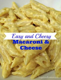 Easy and Cheesy - Macaroni and Cheese Recipe!