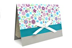 Floral Stationary Mother's Day Card Paper by AmeliaRyCreations