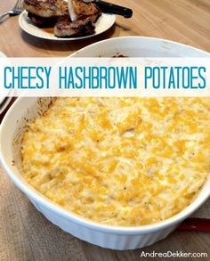 cheesy hashbrown potatoes - Food Snacks for Parties - Cheesy Hashbrown Recipe, Shredded Hashbrown Recipes, Chessy Potatoes, Cheesy Potatoes With Hashbrowns, Snack Recipes, Cooking Recipes, Potato Recipes, Yummy Recipes, Recipies