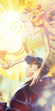 Sailor Moon and Tuxedo Mask Arte Sailor Moon, Sailor Moon Fan Art, Sailor Moon Usagi, Sailor Pluto, Sailor Jupiter, Sailor Venus, Sailor Mars, Neo Queen Serenity, Princess Serenity