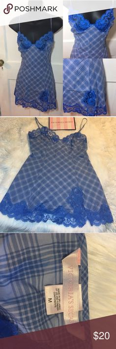 Victoria's Secret Plaid Lace Lingerie -Good condition!  -Pre loved item -I do not accept offers in the comments so please make all reasonable offers using the offer button only. :) I WILL ALWAYS MAKE A COUNTEROFFER UNTIL I REACH MY LOWEST PRICE NO DECLINES SOME ITEMS PRICES ARE FIRM  -NO TRADES  -NO HOLDS 🚫 -I ship every Monday, Wednesday and Friday   💕Instagram- allisonsbeautyboutique 💕 Your purchase is going to help me graduate community college with as little debt as possible. Thank…
