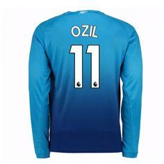 Arsenal Mesut Ozil 11 Auswärtstrikot 17-18 Langarm